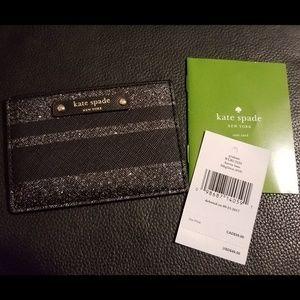 🔥 Kate Spade Graham Haven Lane Black Card Casr